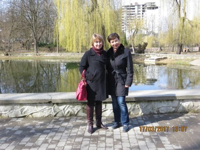 Лина Бесчастная и Алена Щербюк