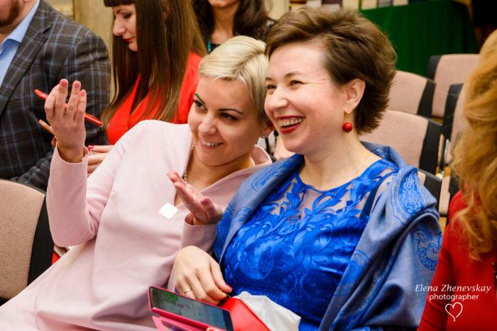 Алена Щербюк и Светлана Витмер на Первом благотворительном балу Елены Тарариной