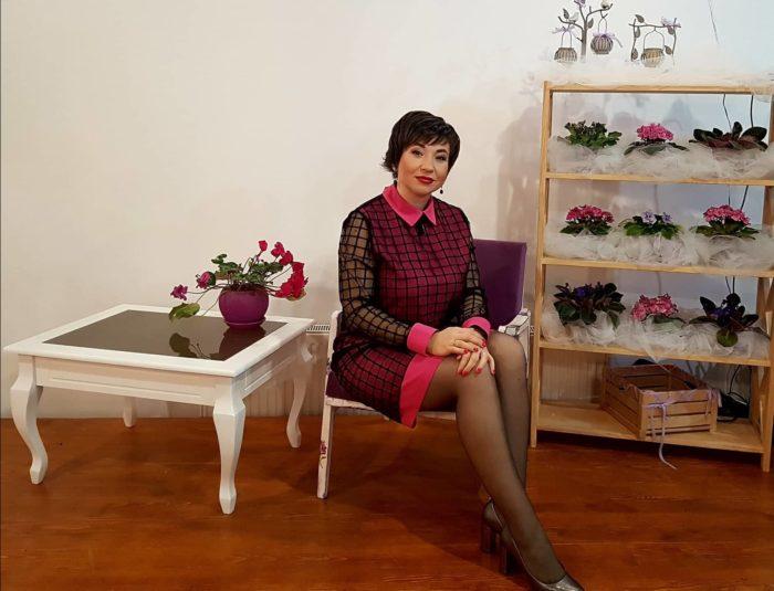 Алена Щербюк на фестивале Мамы в Каменец-Подольске
