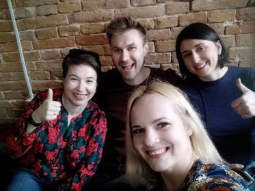 Орест Зуб, Ольга Алексеева, Оксана Дрык, Алена Щербюк